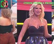 Cristina Ferreira e Marisa Cruz sensuais no apanha se puderes