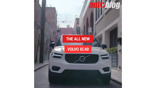 See Volvo's new XC40 in motion - Autoblog