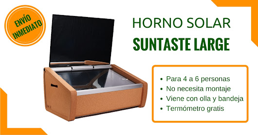 Horno Solar Suntaste Large ☀ Disponible!