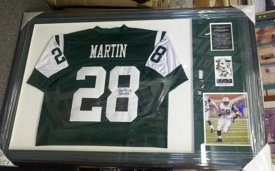 Custom Framing Northern Nj Sports Jerseys Memorabilia Service