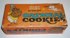 Baby Huey Oatmeal Cookies box