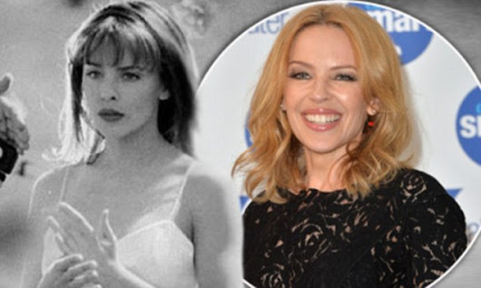 Kylie Minogue shares a flashback aged 27 of her in Nick Cave video