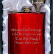 Red hip flask - new product