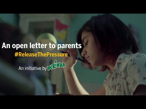 Release the Pressure: an open letter to parents - short video