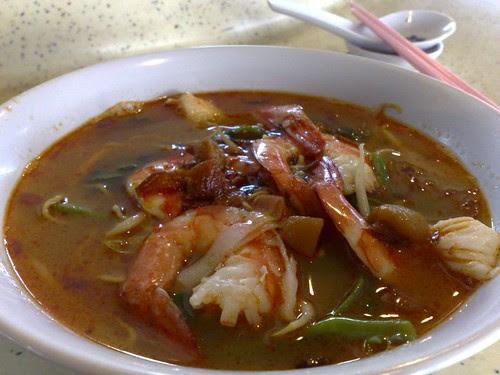 S$3 Soup Prawn Noodle