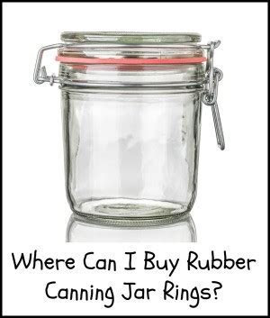 Where Can I Buy Rubber Canning Jar Rings?   ThriftyFun