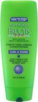 No. 10: Garnier Fructis Fortifying Curl & Shine Cream Conditioner, $2.99
