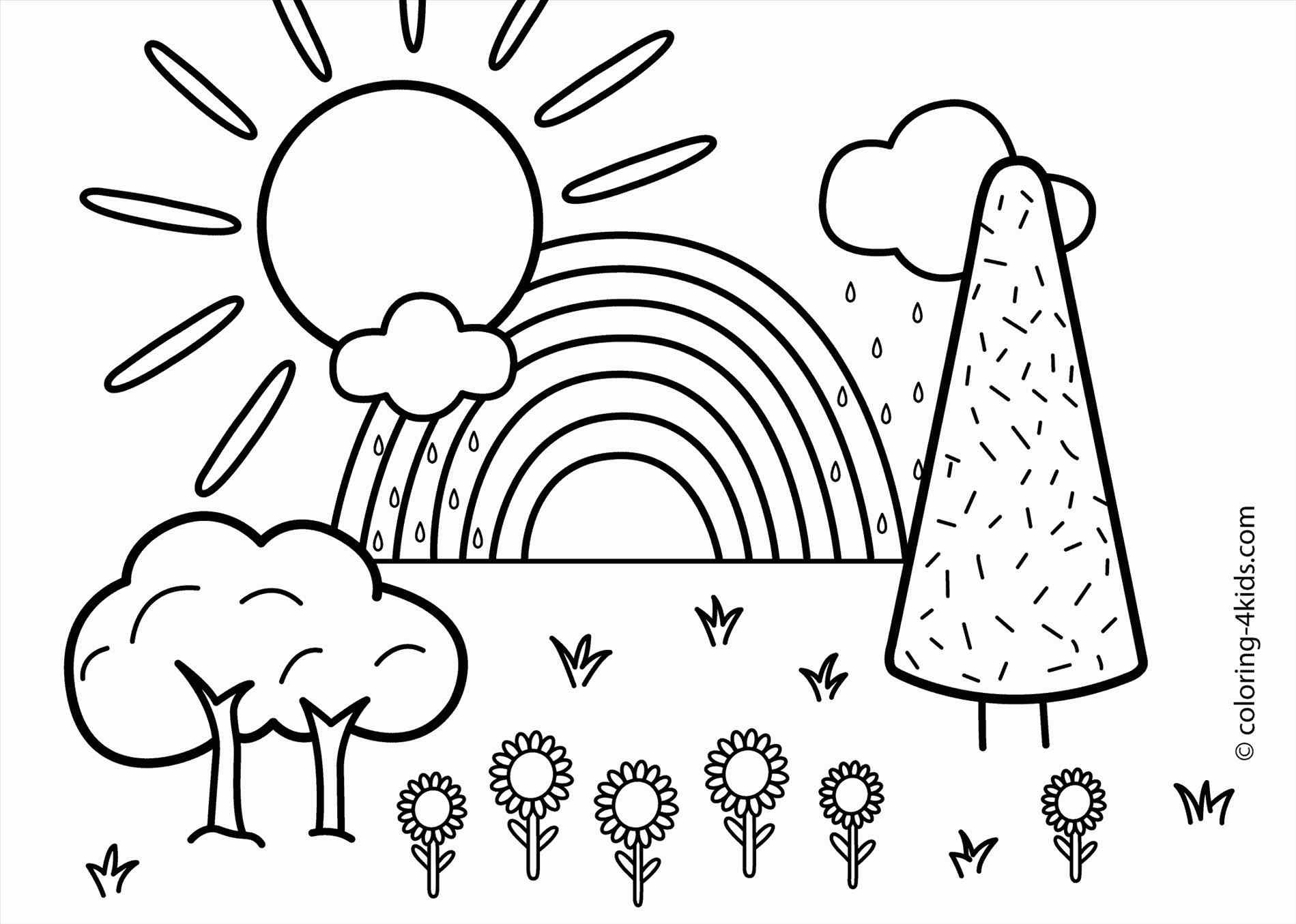 Outline Drawing Of Scenery at GetDrawings | Free download