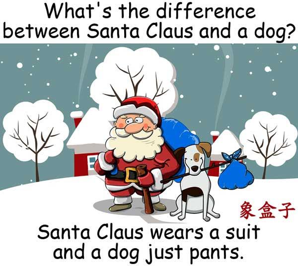 聖誕老人 Santa Claus 狗 dog