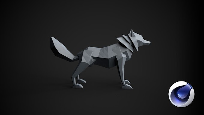 [100% Off UDEMY Coupon] - Learn Cinema 4D: Low Poly Wolf