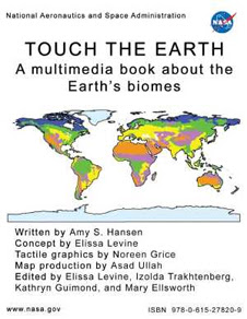 The 'Touch the Earth' tactile book.