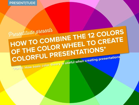 Basic color theory for presentation design part II