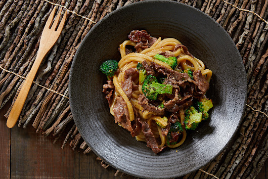 Beef and Broccoli Yakiudon Stir-Fry Makes an Easy, Delicious Meal | Fresh Tastes Blog | PBS Food