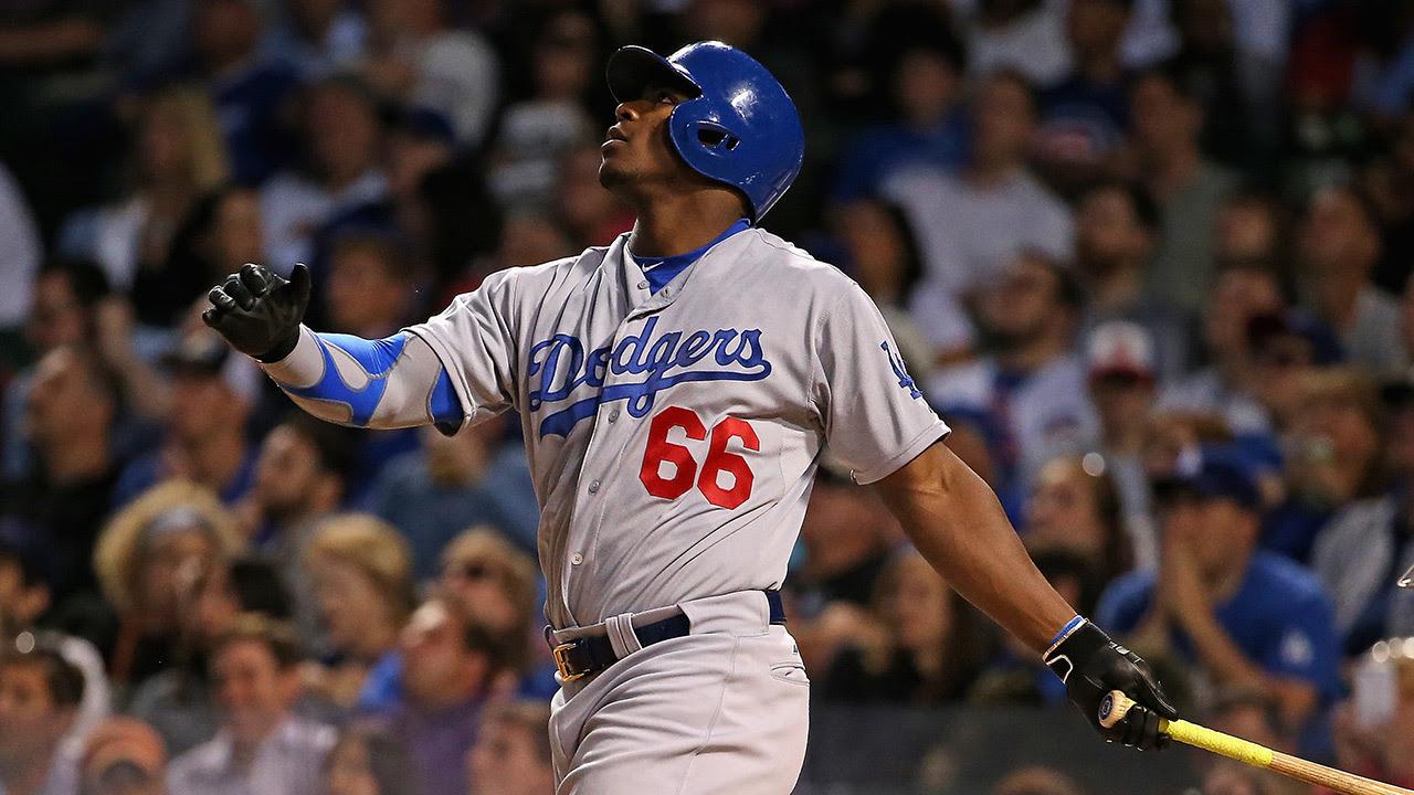 Dodgers activan de la lista de lesionados a Yasiel Puig