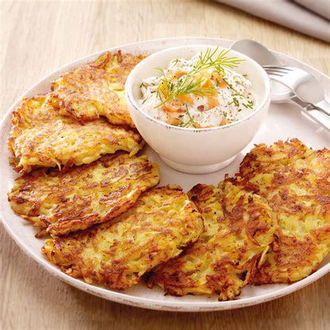 kartoffelpuffer mit lachscreme rezept ww deutschland