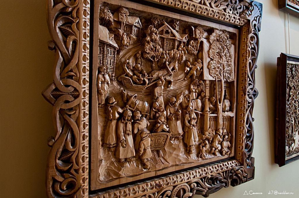 As incríveis pinturas esculpidas de Kronid Gogolev 17