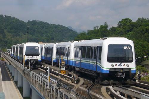 文湖線列車