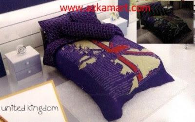 Bed Cover Kintakun Grosir Line Sprei Bedcover Dan Selimut Murah