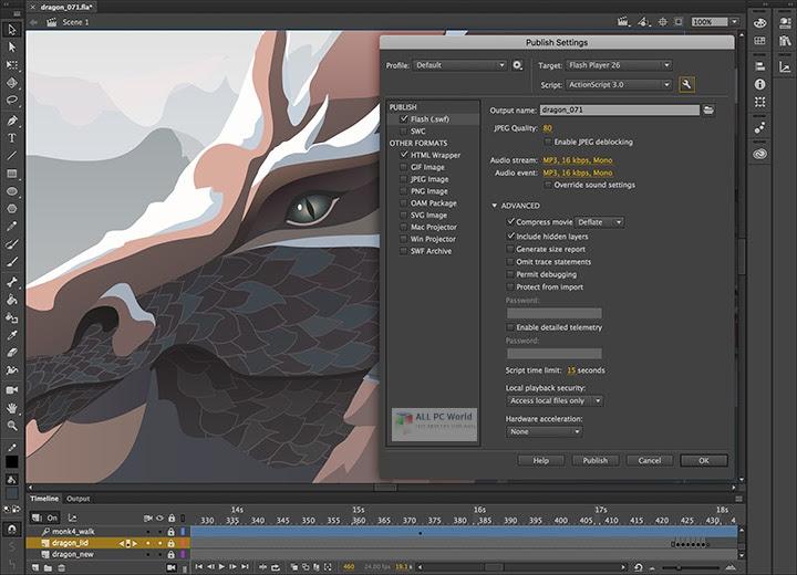 Adobe Animate CC 2020 v20.0.3 Free Download - ALL PC World