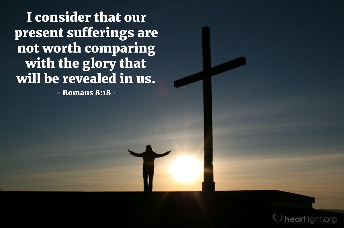 Illustration of Romans 8:18