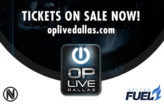 OP Live Dallas Partners with Team Envy and Dallas Fuel — Tickets on sale now! | SMU Guildhall