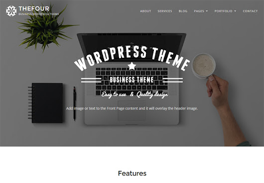 TheFour ⋆ WordPress Business Theme ⋆ GretaThemes