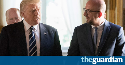 Trump 'complained to Belgian PM of difficulty setting up golf resorts in EU' | US news | The Guardian