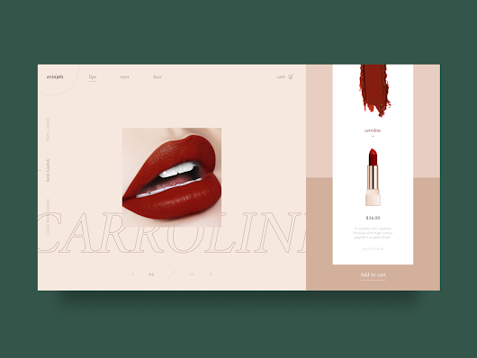 Beauty Ecommerce Website