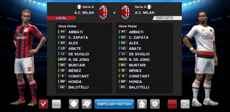 PES 2013 AC Milan 2014/2015 kitset (UPDATE 08/08/2014) by BK-201