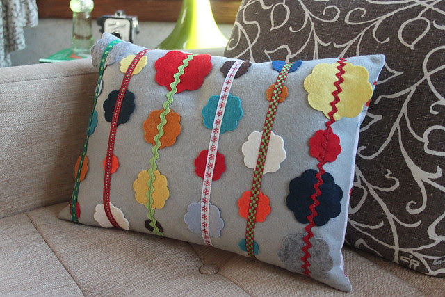 Funky Christmas Pillow