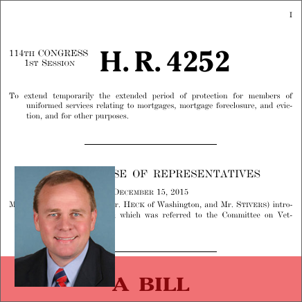 Foreclosure Relief and Extension for Servicemembers Act of 2015 (H.R. 4252)