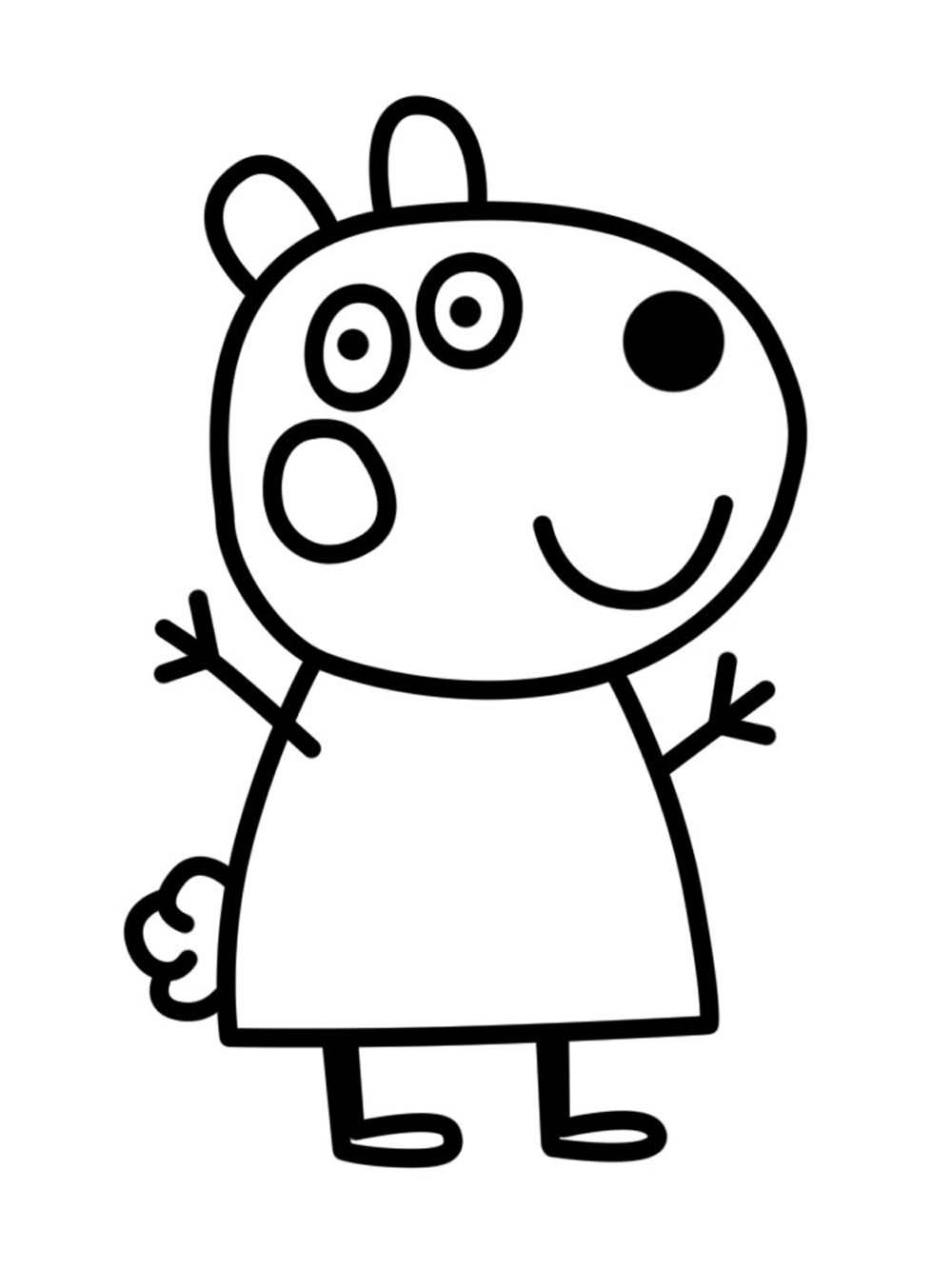 Imagenes De Peppa Pig Para Colorear Dibujos De