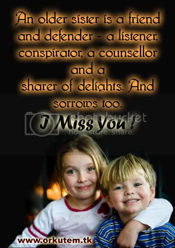 Risanceco I Miss You Sister Quotes
