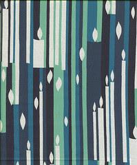 hannukah print fabric (Alexander Henry?)