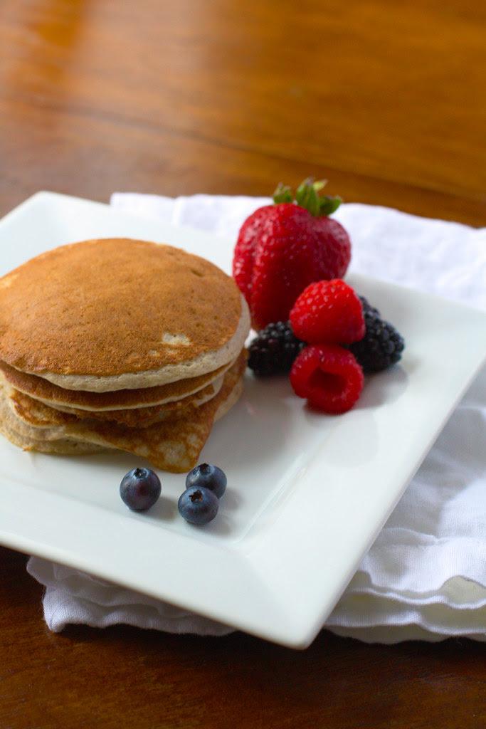 Pancakes Brightened