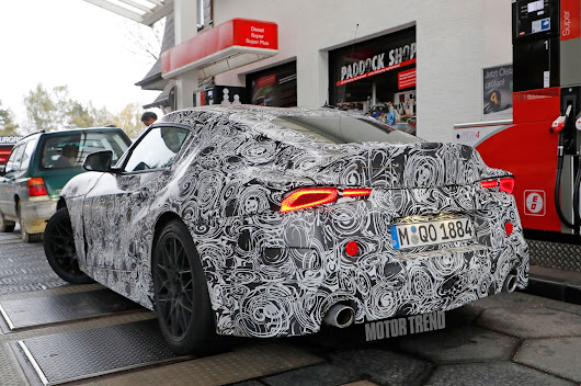 Spied! Toyota Supra Sheds More Camouflage, Reveals Taillights - Motor Trend