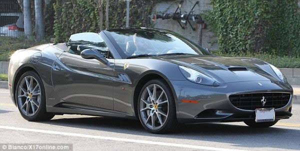 Jack Osbourne Buys A Ferrari California   Celebrity Cars Blog