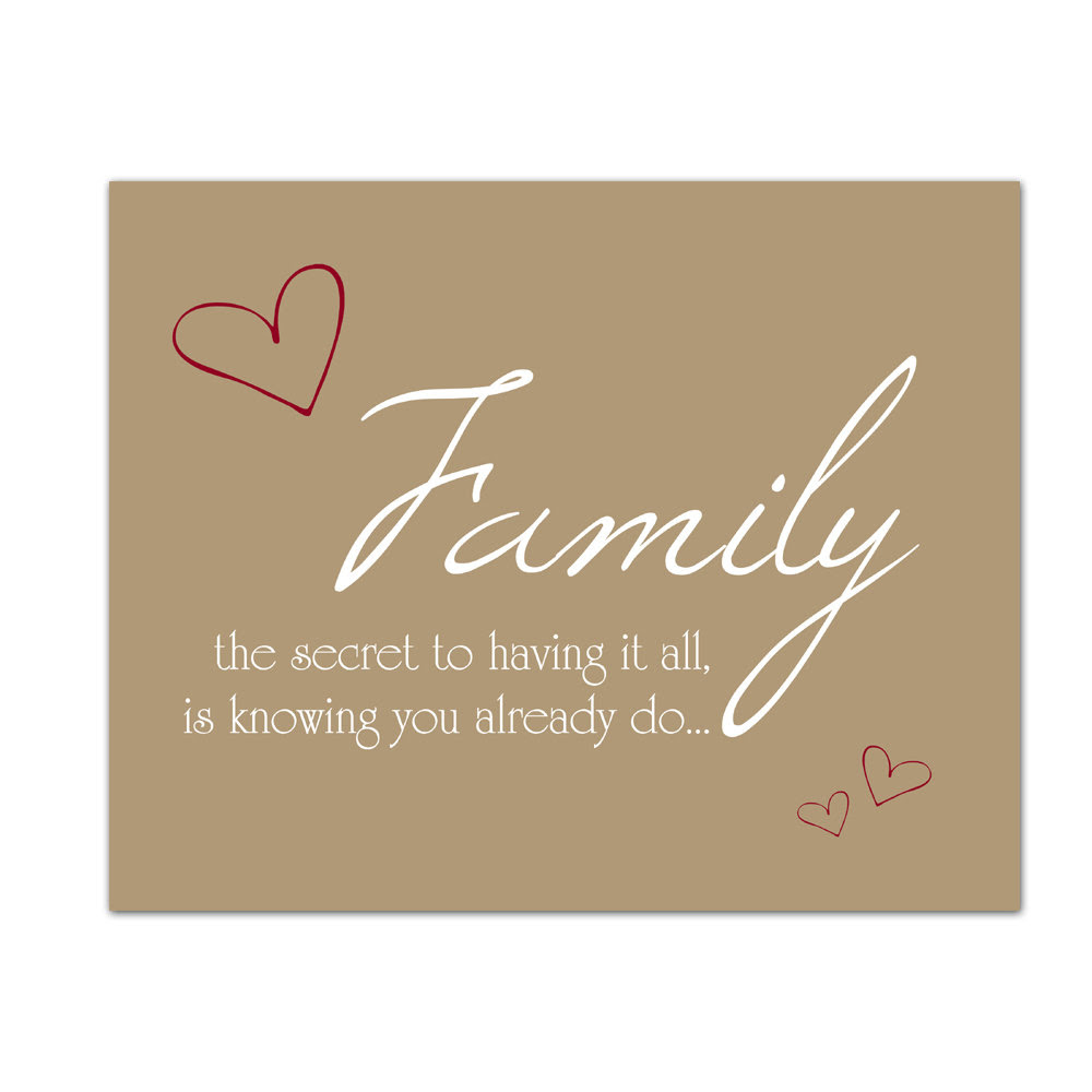 Inspirational Quotes About Family. QuotesGram