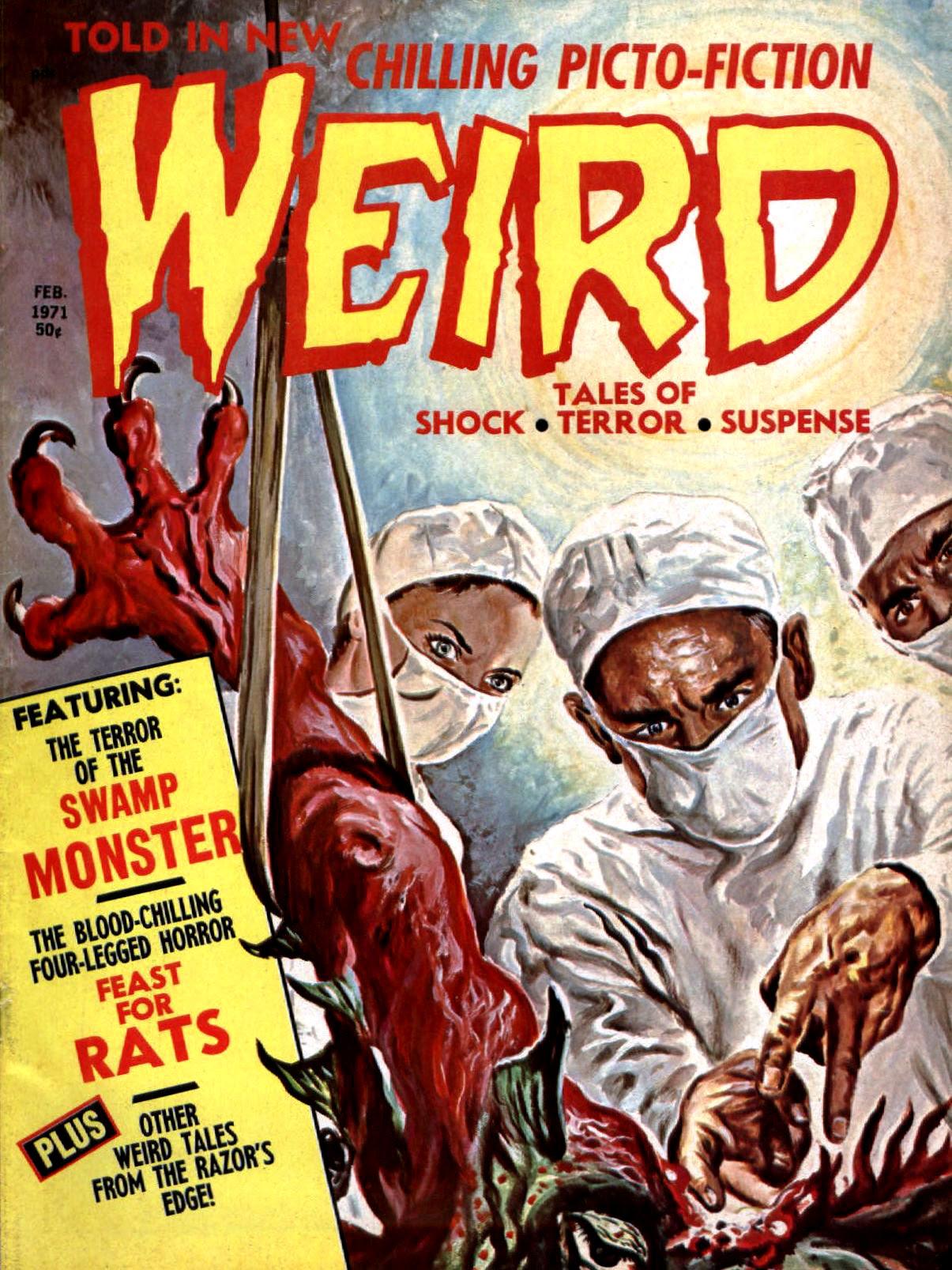 Weird Vol. 05 #1 (Eerie Publications, 1971)
