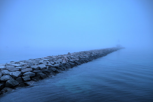 The foggy Causeway