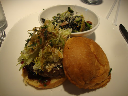Butcher's cut burger at Flip Burger Boutique