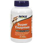 Now Foods Super Enzymes Capsules - 90 count