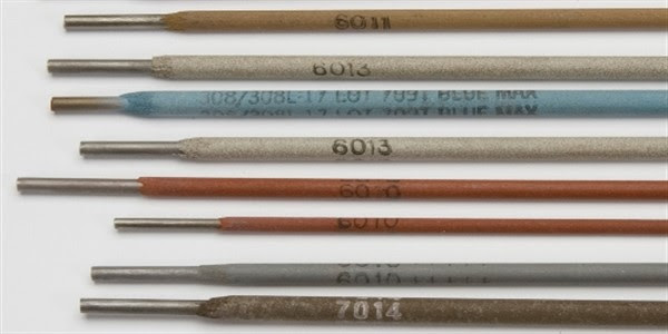 Discovering the 7018, 6013, 6011 and 6010 Welding Rod Sizes (+Chart!) types and uses of welding electrodes