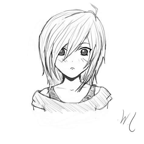 anime girl drawing  getdrawingscom   personal