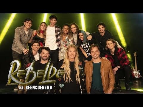 ReEncuentro Rebelde! Benjamin Rojas y Felipe Colombo con Cris Morena