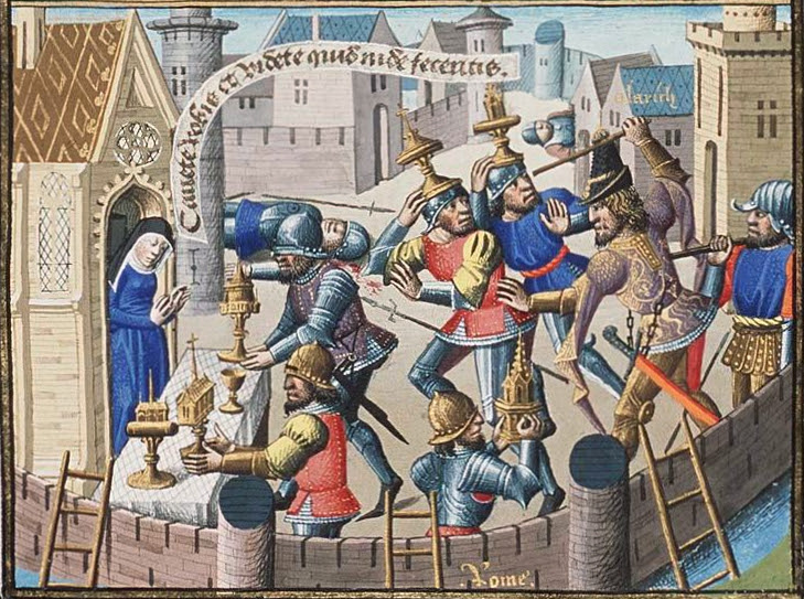 http://upload.wikimedia.org/wikipedia/commons/5/5f/Sack_of_Rome_by_Alaric_-_sacred_vessels_are_brought_to_a_church_for_safety_%282nd_of_2%29.jpg