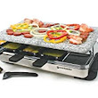 Amazon.com: Swissmar KF-77081 8-Person Stelvio Raclette Party Grill with Granite Stone: Contact Grills: Kitchen & Dining