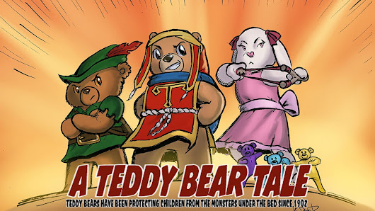 Awakenings Act Two - A Teddy Bear Adventure Comic Book