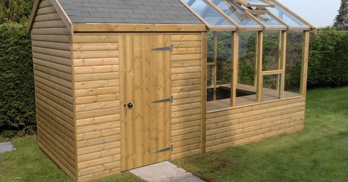 Damis potting shed plans free uk for Potting shed plans free