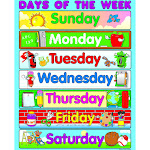 Chart Days of The Week - Carson Dellosa